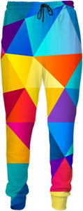 Colorful Geo Joggers