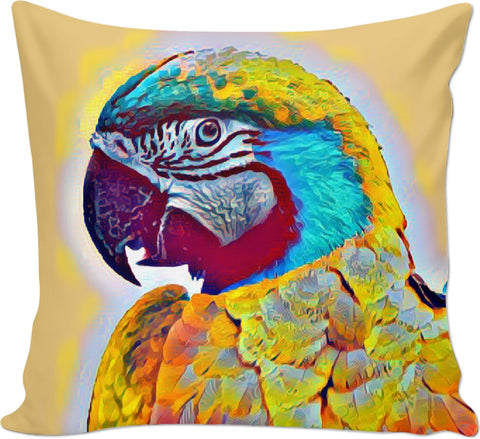 Parrot 2 Couch Pillow