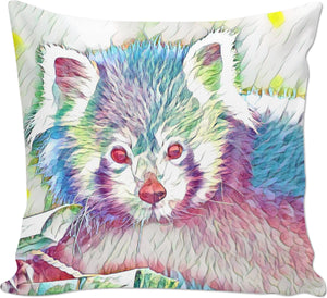 Red Panda Couch Pillow