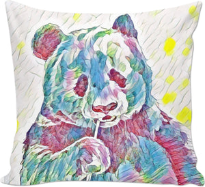 Bamboo Panda Couch Pillow
