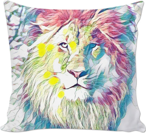Lion Couch Pillow