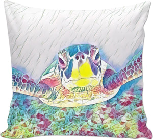 Turtle 2 Couch Pillow