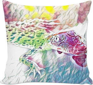 Alligator Couch Pillow