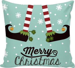 Christmas Elf Couch Pillow