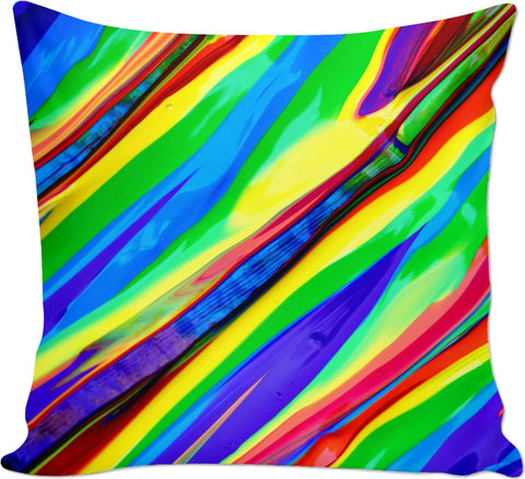 Bright and Abstract Couch Pillow