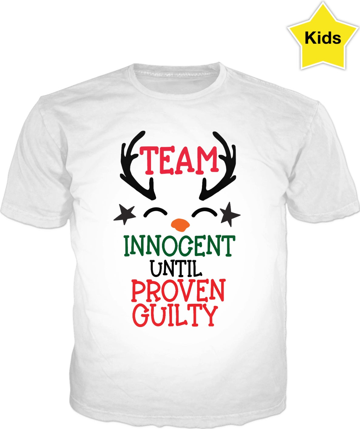 Christmas Team Innocent T-Shirt