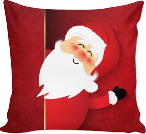 Santa Says Hey Couch Pillow