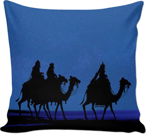 Three Christmas Couch Pillow