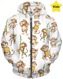 My Little Monkey Hoodie