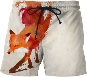 Vulpes vulpes Swim Shorts
