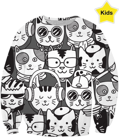 Cats Children's Sweatshirt