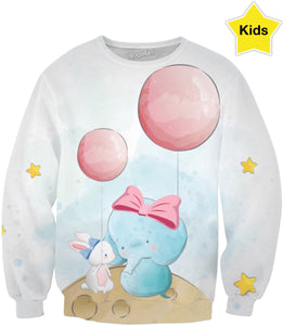 Babies And Balloons Children's Sweatshirt