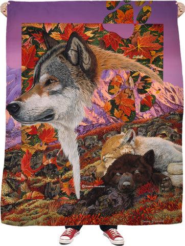 Alaska Dreaming Fleece Blanket