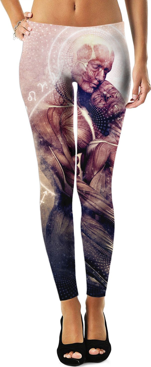 Between The Teardrops Leggings/Plus Sizes Available/XS - 5XL