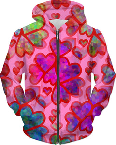 Heart Collage Hoodie