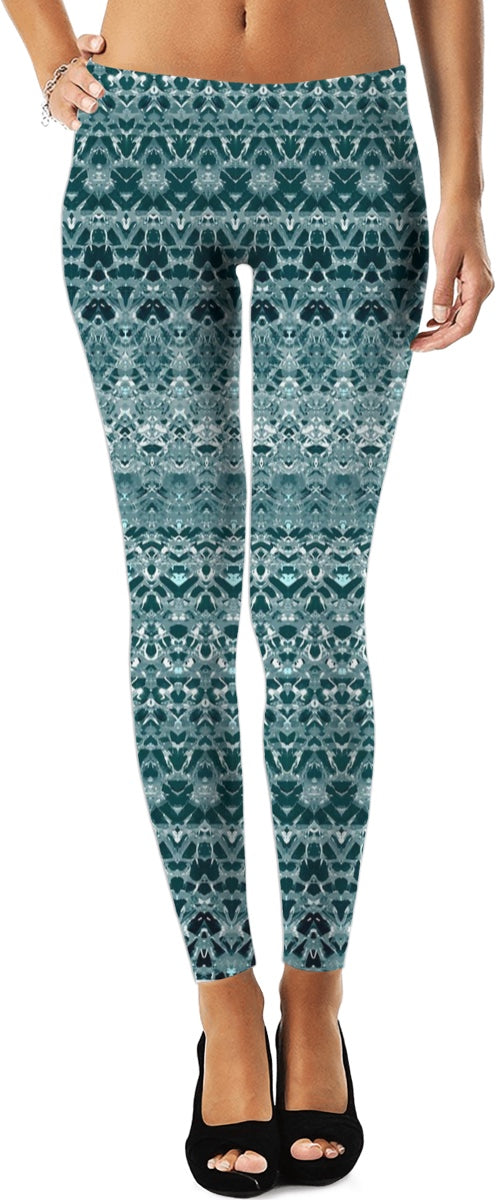 Green And Intricate Women's Leggings