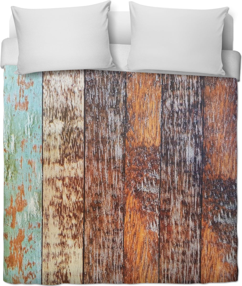 Wood Duvet Cover