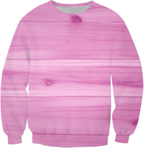Pink Wood Sweatshirt