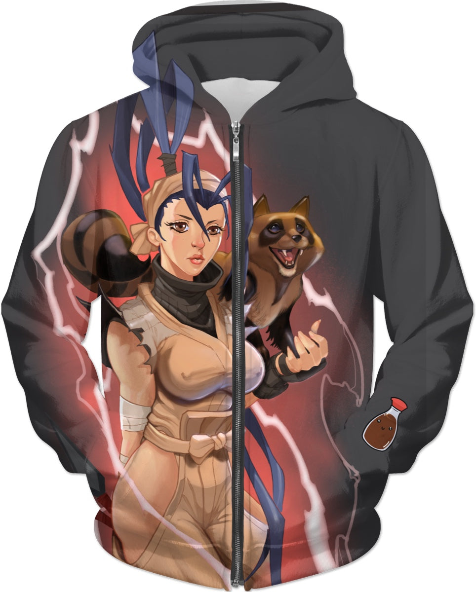 Ibuki Style By Picasso Dular Hoodie