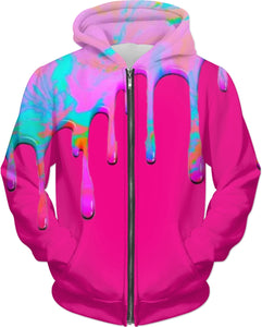 Dripping Paint Hoodie