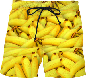 Banana Bunches Swim Shorts