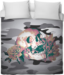 Camp Skull Duvet Cover