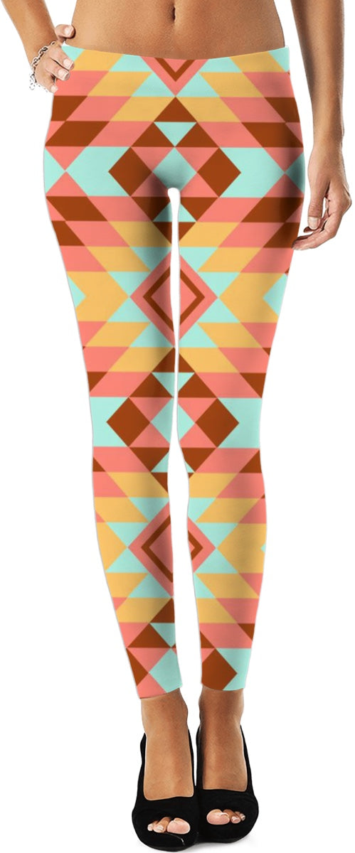 Tribal Pattern Leggings