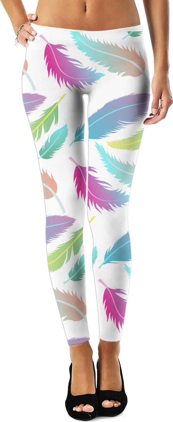 Feathers and Colors Leggings