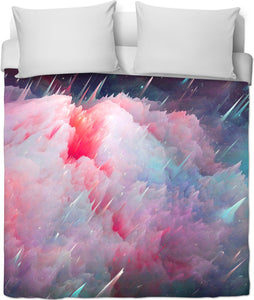 Rain Clouds Duvet Cover