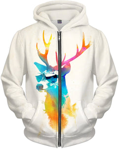 Sunny stag Hoodie
