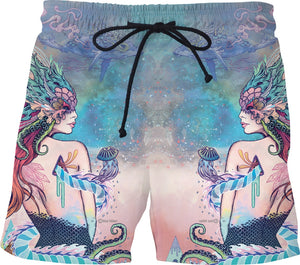 The Last Mermaid Swim Shorts