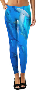 Hammerhead Sharks 3 Leggings