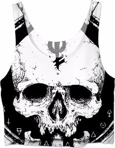 Memento Mori Crop Top