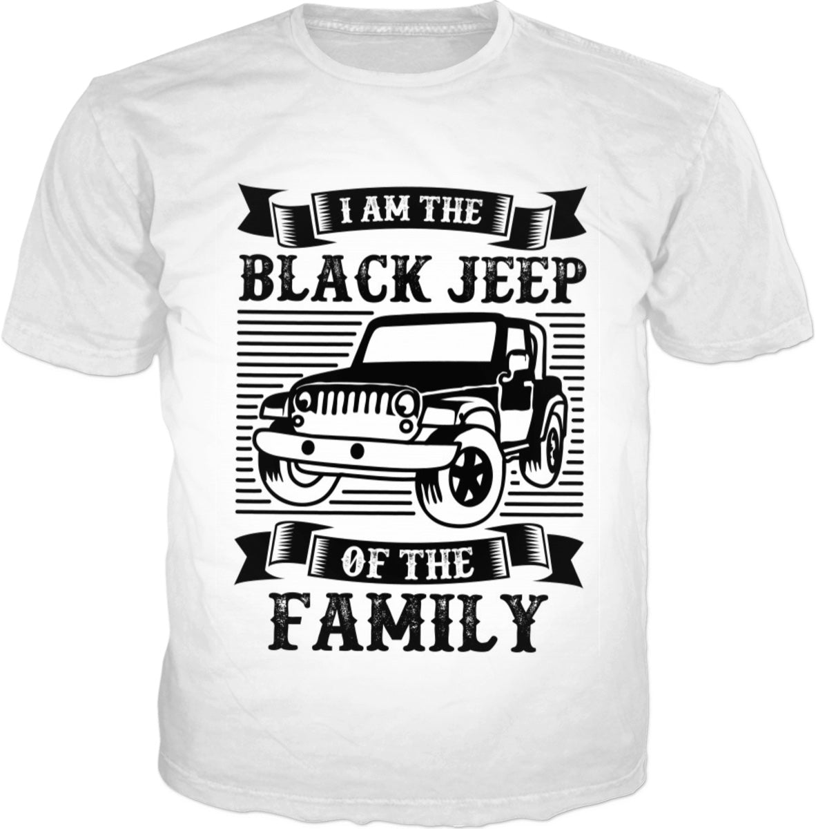 Black Jeep Of The Family T-Shirt
