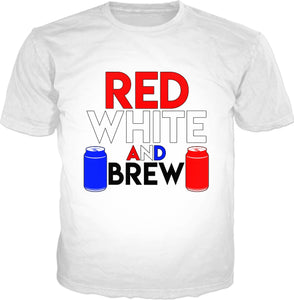 Red, White, and BREW Classic T-Shirt