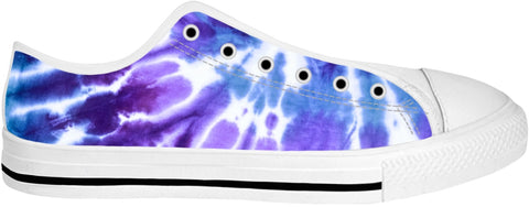Purple Tie Dye Low Tops