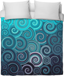 Aquamarine Duvet Cover