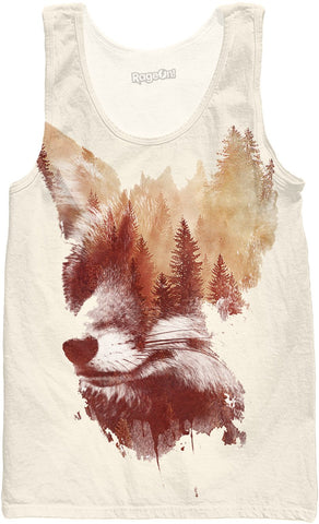 Blind fox tank top