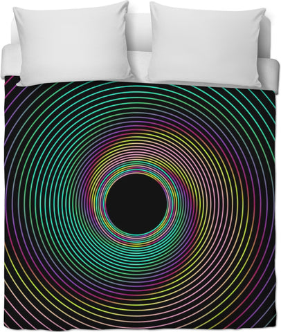 Center Yourself Duvet Cover