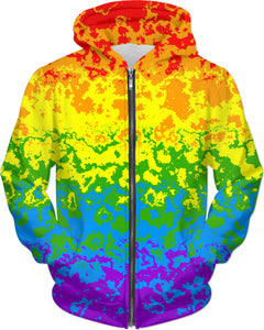 Pride Abstract Hoodie
