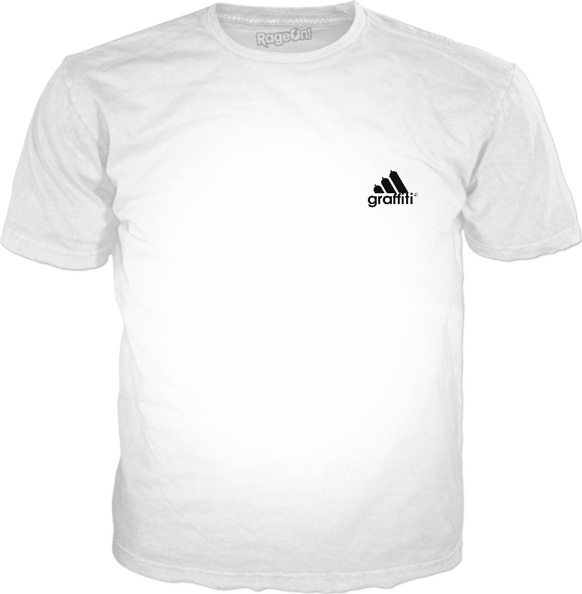 NEW! adidas graffiti parody T-Shirt
