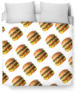 Perez Hilton Big Mac Duvet Cover