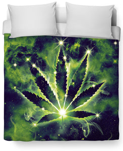 Weed Constellation Duvet Cover
