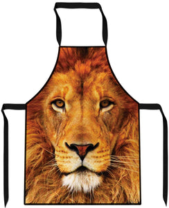 Lion Cooking Apron