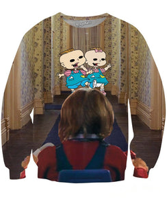 The Shining Rugrats Crewneck Sweatshirt