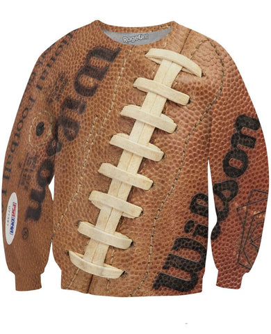 Football Crewneck Sweatshirt