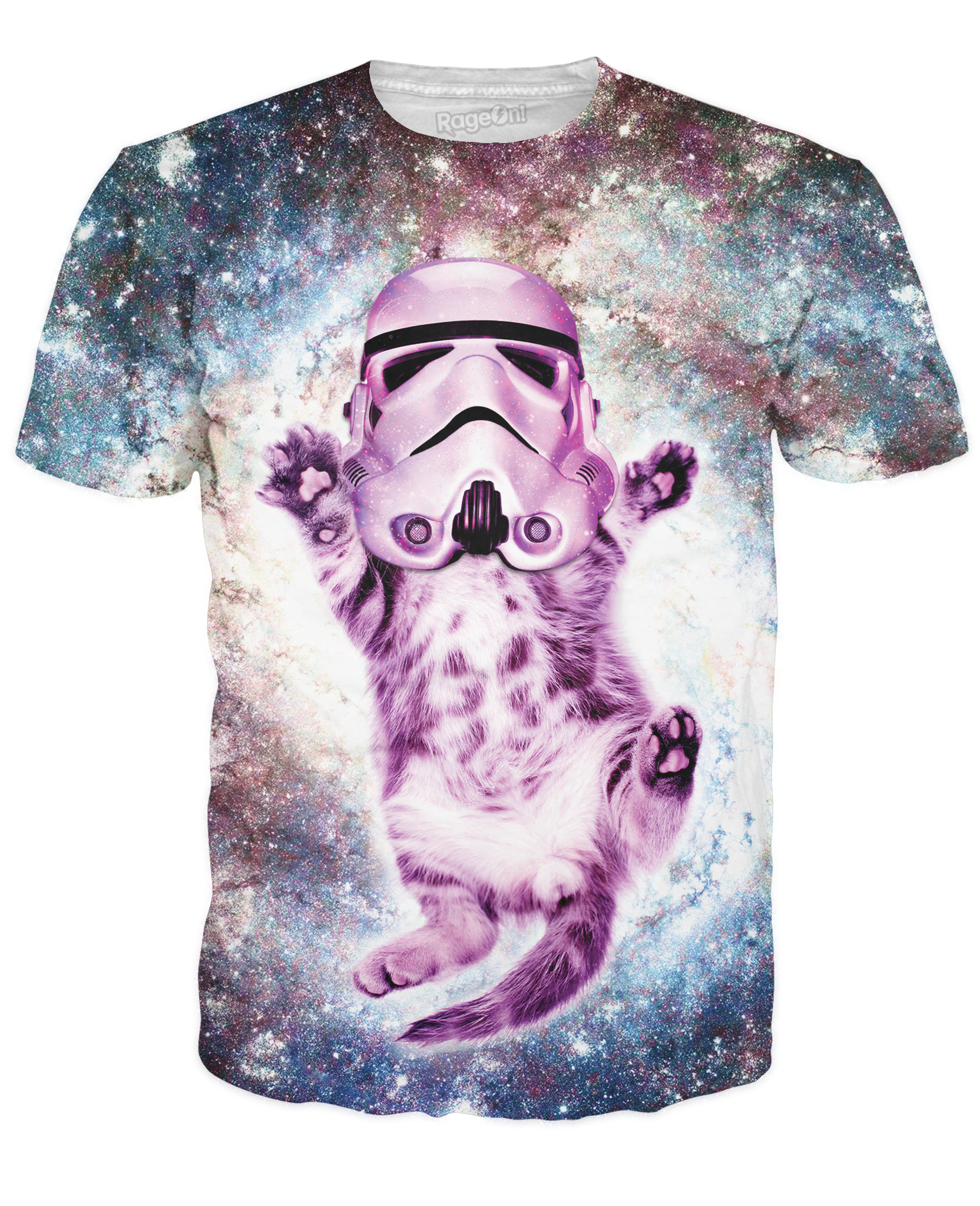 Helmet Cat T-Shirt