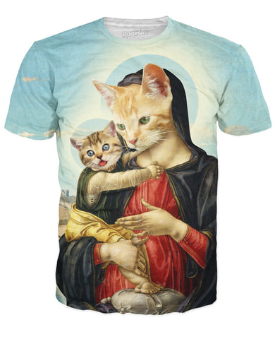 ROTS Holy Mother and Kitten T-Shirt (AOP)