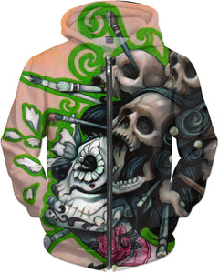 Art And Death Hoodie