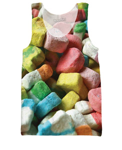 Lucky Charms Marshmallows Tank Top